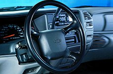 Chevy Leather Steering Wheel by Grant®