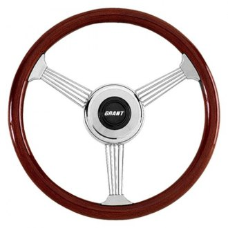 Grant® - Banjo Style Wood Steering Wheel