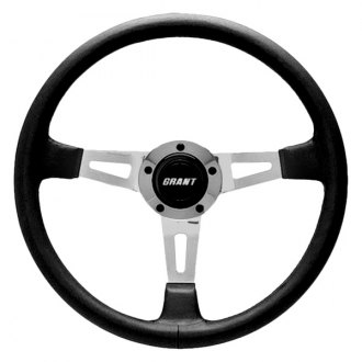 Grant® - 3-Spoke Polished Aluminum Design Collectors Edition Steering Wheel