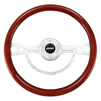 Grant® - 2-Spoke Polished Alcoa Aluminum Design Signature Style Steering Wheel