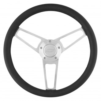 Grant® - 3-Spoke Billet Series Aluminum Polished Steering Wheel Kits
