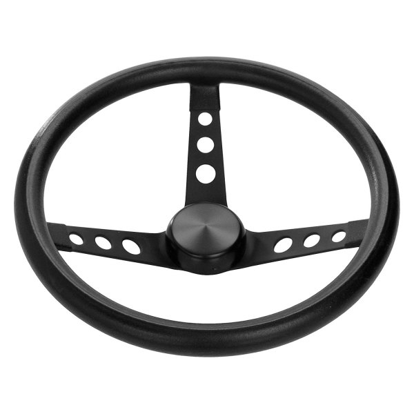 Grant® - 3-Spoke Classic Series Steering Wheel with Black Foam Grip