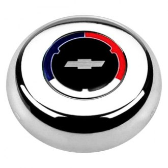 Grant® - Cast Classic / Challenger Style Horn Button with Chevrolet Emblem