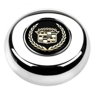 Grant® - Cast Classic / Challenger Style Horn Button with Cadillac Emblem