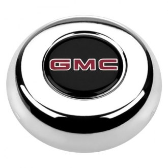 Grant® - Cast Classic / Challenger Style Horn Button with GMC Truck Emblem