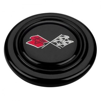 Grant® - Signature Style Horn Button with Corvette Flags Emblem