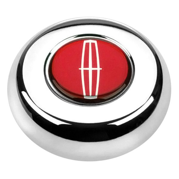 Grant® - Cast Classic or Challenger Style Horn Button with Lincoln Emblem