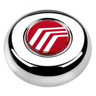 Grant® - Cast Classic / Challenger Style Chrome Horn Button with Mercury Emblem