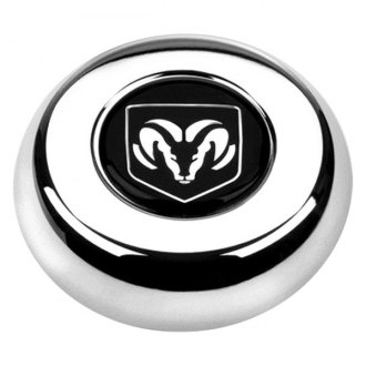 Grant® - Cast Classic / Challenger Style Horn Button with Dodge Ram Emblem