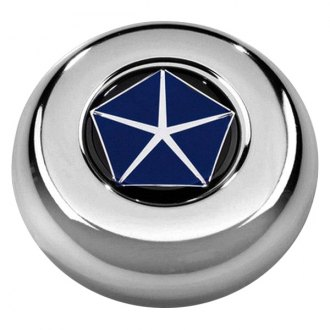 Grant® - Cast Classic / Challenger Style Horn Button with Chrysler Pentastar Emblem