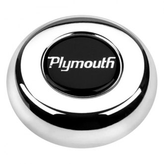 Grant® - Cast Classic / Challenger Style Horn Button with Plymouth Emblem