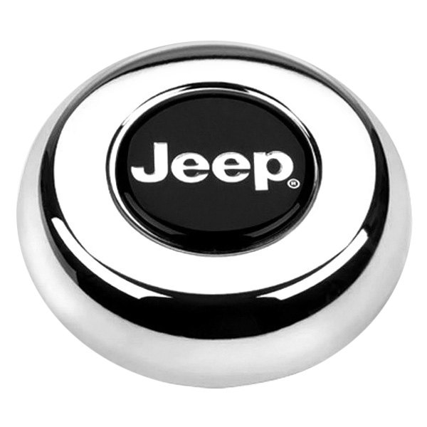 Grant® - Cast Classic / Challenger Style Horn Button with Jeep Emblem