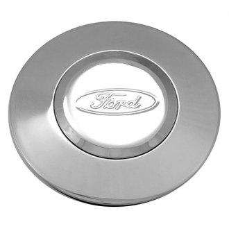 Grant® - Banjo Style Horn Button with Engraved Ford Oval Logo