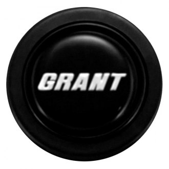 Grant® - Signature Style Black Plastic Horn Button with Grant Logo