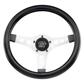 Grant® - 3-Spoke GT Sport Steering Wheel with Black Cushioned Foam Grip