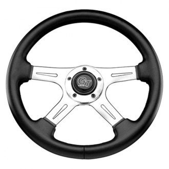 Grant® - 4-Spoke Polished Aluminum Design Elite GT Steering Wheel