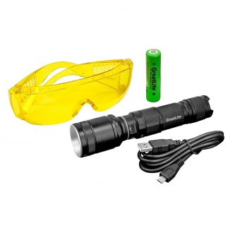 GreatLite® - Rechargeable UV Light with Reflector and Glasses