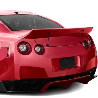 Nissan 350Z Spoilers  Custom Factory Roof Lip  Wing Spoilers