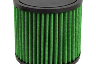 GREEN FILTER® - Cylinder Air Filter with Rubber End Cap and Straight Inlet (3 F x 3.95 H x 4.33 B x 4.33 D)