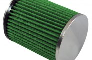 GREEN FILTER® 2099 - Cylinder Air Filter with SS End Cap and Straight Inlet (3 F x 6.69 H x 4.72 B x 4.75 D)