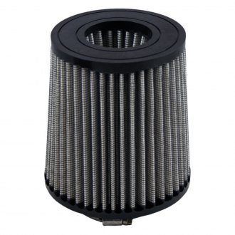 Green Filter® - Color Match Round Tapered Gray Air Filter with Rubber Ring End Cap and Straight Inlet