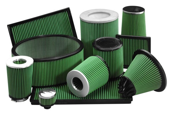 Image may not reflect your exact vehicle! GREEN FILTER® - Factory Replacement Air Filter