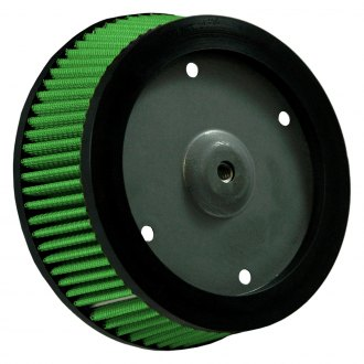 Green Filter® - Round Tapered Air Filter with Steel End Cap with Threaded Insert