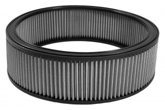 "Green Filter® 2876 - Color Match Round Gray Air Filter (12"" ID x 14"" OD x 4"" H)"