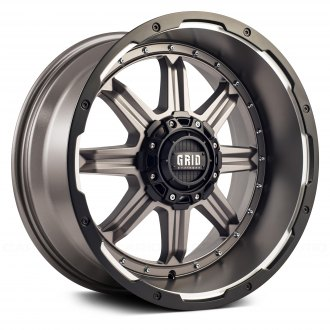 GRID OFF-ROAD® - GD10 Matte Antracite