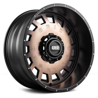 GRID OFF-ROAD® - GD3 Matte Black with Bronze Face