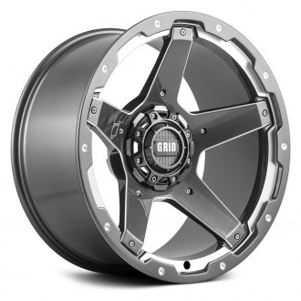 GRID OFF-ROAD® - GD4 Gloss Graphite with Milled Accents