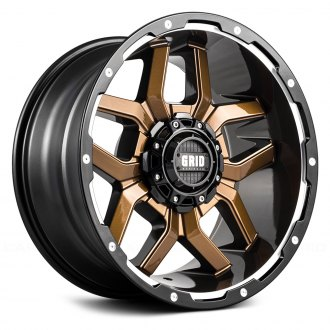 GRID OFF-ROAD® - GD7 Gloss Bronze with Black Lip