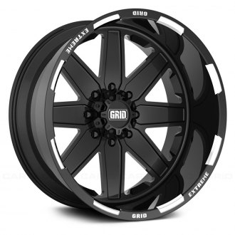 GRID OFF-ROAD® - GF-M1 Monoblock Gloss Black with Milled Accents