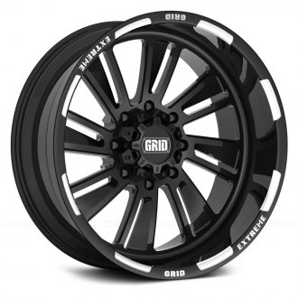 GRID OFF-ROAD® - GF-M11 Monoblock Gloss Black with Milled Accents