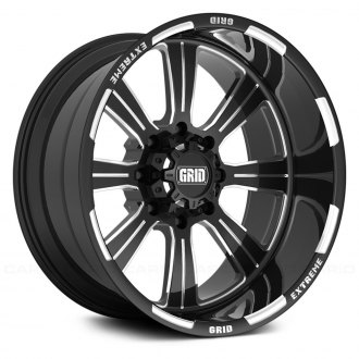 GRID OFF-ROAD® - GF-M13 Monoblock Gloss Black with Milled Accents
