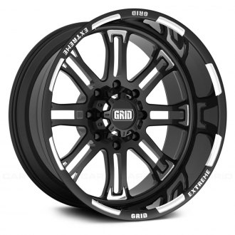 GRID OFF-ROAD® - GF-M14 Monoblock Gloss Black with Milled Accents
