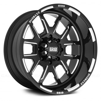 GRID OFF-ROAD® - GF-M15 Monoblock Gloss Black with Milled Accents