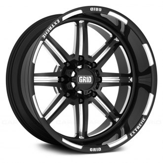GRID OFF-ROAD® - GF-M16 Monoblock Gloss Black with Milled Accents