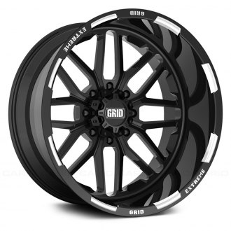 GRID OFF-ROAD® - GF-M2 Monoblock Gloss Black with Milled Accents