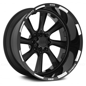 GRID OFF-ROAD® - GF-M8 Monoblock Gloss Black with Milled Accents