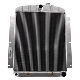 "Griffin Thermal® - 21"" x 18.63"" x 2.68"" High Performance Direct Fit Radiator with Transmission Cooler"