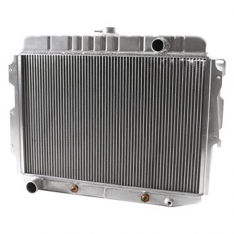 "Griffin Thermal® - 17"" x 25.5"" x 2.68"" High Performance Direct Fit Radiator with Transmission Cooler"