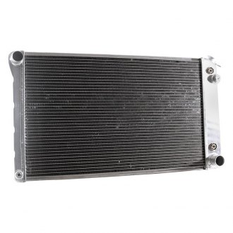 "Griffin Thermal® - 28.38"" x 18.53"" x 2.68"" High Performance Direct Fit Radiator with Transmission Cooler"