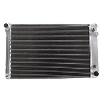 "Griffin Thermal® - 26.38"" x 18.53"" x 2.68"" High Performance Direct Fit Radiator with Transmission Cooler"