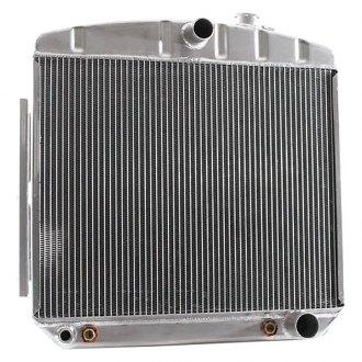 "Griffin Thermal® - 17"" x 22"" x 2.68"" High Performance Direct Fit Radiator with Transmission Cooler"
