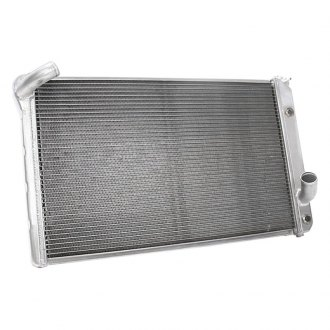 "Griffin Thermal® - High Performance Direct Fit Radiator with Transmission Cooler, 27.5"" x 18.48"" x 2.68"""