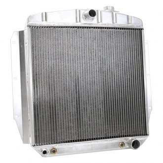 "Griffin Thermal® - 20"" x 22"" x 2.68"" High Performance Direct Fit Radiator with Transmission Cooler"
