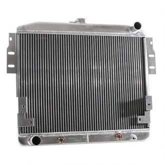 "Griffin Thermal® - High Performance Direct Fit Radiator with Transmission Cooler, 16"" x 23"" x 2.68"""