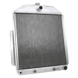 "Griffin Thermal® - 21.5"" x 20.88"" x 2.68"" High Performance Direct Fit Radiator with Transmission Cooler"