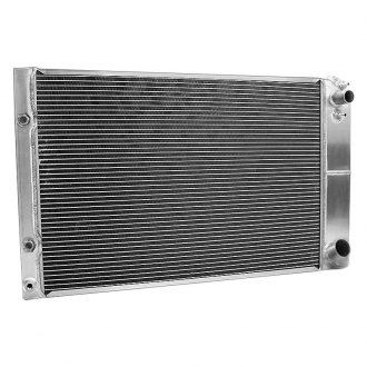 "Griffin Thermal® - 28"" x 19"" x 2.68"" High Performance Direct Fit Radiator with Transmission Cooler"